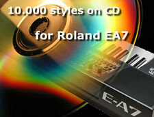cd with 10.000 Roland styles for Roland EA7 arranger E A7