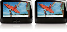 "Philips PD9012/37 9"" LCD Dual Wide Screen Portable Video DVD Player PD9012 NEW"