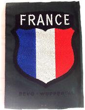 """Ecusson de bras tissé bevo des volontaires """"France"""" - Frankreich Freiwilliger"""