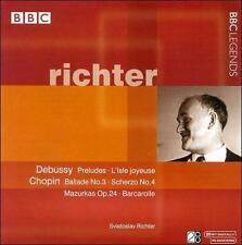 Richter Debussy Preludes L'Isle joyeuse Chopin Ballade No. 3 Scherzo BBC Legends
