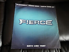 "Fierce,  Dayz Like That , Promo 12""Vinyl Single"