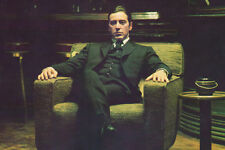 The Godfather: Part II 24x36 Poster Al Pacino Michael Corleone in chair