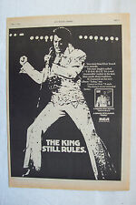 1975 - ELVIS PRESLEY - T-R-O-U-B-L-E - Press Advertisment - Poster Size