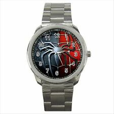 NEW* HOT SPIDERMAN Quality Sport Metal Wrist Watch