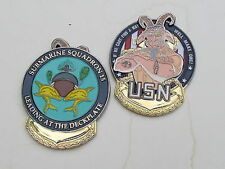 US Navy Submarine Squadron 15 Leading  at the Deckplate Chief USN Challenge Coin