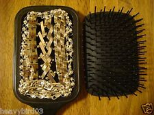 #118 SECRET HIDDEN DIVERSION SAFE BLACK HAIR BRUSH COVERT STASH CAN!