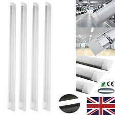 4 X 20W 600MM 2400LM SLIM LED BATTEN LINEAR TUBE LIGHT CEILING SURFACE MOUNTED