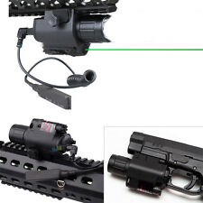 2in1 Tactical CREE Q5 LED Flashlight Green Laser Sight Combo fr Shotgun Glock AR