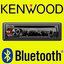 KENWOOD KDC-BT34U CAR CD USB RADIO STEREO HEAD-UNIT IPHONE BLUETOOTH HANDS-FREE