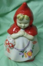 Cookie Jar Classics Little Red Riding Hood by Jonal China/Cookie Jar/VGC