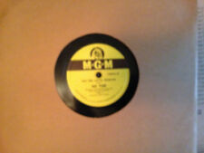 78RPM MGM 10085  Jack Fina, so far / golden earrings