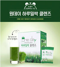 One day Wheat Grass Cleanse 4 Box(28ea)+ 500ml Bottle Gift for Diet, Loss Weight