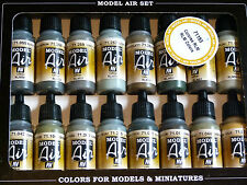 Vallejo Model Air RLM Colours Set Airbrush or Brush For Models