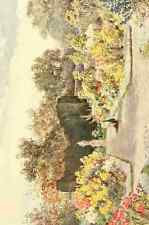 A4 Photo Elgood George S 1851 1943 Some English Gardens 1904 St Annes Clontarf P