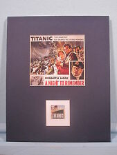 "The Sinking of the Titanic in the movie ""A Night to Remember"" & its own stamp"