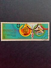 Ajman State Stamp 1972 Munich Olympic games, Gold medal winners