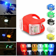 1pcs Bicycle Bike Silicone Frog Light LED Front/Rear Safety Wheel Warning Lamp