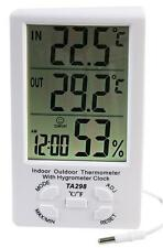 Pro Signal Indoor/outdoor Digital Thermo Hygrometer Weather Station With Clock