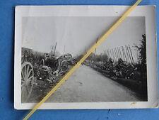 Foto Westfront Frankreich 1940 Rückzugsstrasse Trümmer