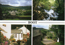 postcard  Cunbria Boot multi view Millstone cards