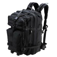 45L MOLLE Military Rucksack Outdoor Tactical Backpack Camping Sports Bag 3W