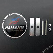 Hamann Car Front Grille Grill Emblem Badge Decal Sticker Fit For BMW M2 M6 X5 Z4