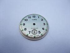 q Kult Original DDR Produktion Zifferblatt fü Ruhla Uhr Armbanduhr Ø 29,0 mm NEU