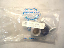 NEW IN FACTORY PACKAGE FESTO LCX-3/8-PX9 QUICK CONNECTOR