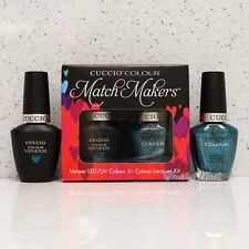 CUCCIO Veneer Match Makers - FOUNTAINS OF VERSAILLES 6043 Gel & Lacquer Duo Kit