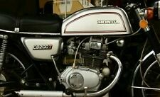 HONDA CB200  MODEL  FULL TANK PAINTWORK DECAL KIT