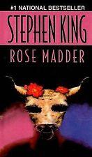 Rose Madder by Stephen King (1998, Hardcover)