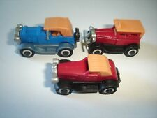 ROLLS ROYCE VINTAGE MODEL CARS SET 1:87 H0 - KINDER SURPRISE PLASTIC MINIATURES