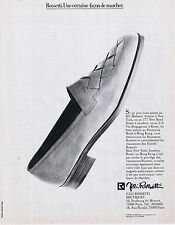 PUBLICITE ADVERTISING 054 1983 ROSSETTI chaussures Italiennes