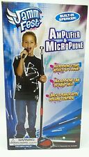 Kids Microphone Electronic Amplifier Speaker Ser Adjustable Stand Music New