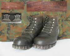 WWII GERMAN MOUNTAIN TROOPS GEBRIGSJAGER SOLDIERS LOW BOOTS w/HOBNAILS RBN RAR