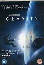 Gravity Sandra Bullock, George Clooney New Sealed DVD