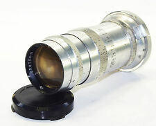 JUPITER 11 4/135mm Russian Lens fit KIEV Contax I II III RF GOOD cond 1961 Red P