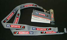 SKY Sports F1 Lanyard & Ear Plugs Official Licenced Product  Brand NEW with Tags