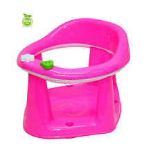 3 In 1 Baby Bath Dining & Activity Play Seat Kids Tub Ring Seat Chair Pink