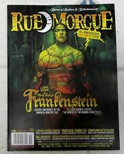 RUE MORGUE iSSUE # 171 Oct 2016 MARY SHELLEY'S FRANKENSTEIN History HALLOWEEN
