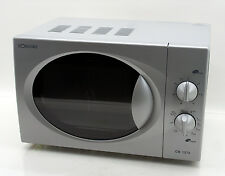 Bomann CB 1272 microondas con parrilla 1000w plata