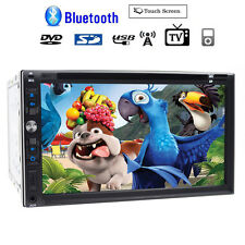 "Samsung Core Double 2Din 7""Car Stereo Radio DVD Player Dash Bluetooth TV MP3 Mic"