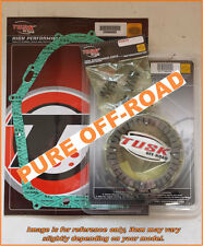 Tusk Clutch Kit, Heavy Duty Springs & Cover Gasket for Yamaha YFZ 450 2007-2013