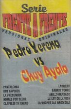 Pedro Yerena Vs Chuy Ayala Cassette New Sealed