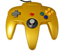 Nintendo N64 USB Controller For Windows And MAC Gold By Mars Devices Brand New