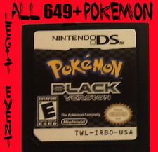 Pokemon Black 1 Loaded With All 649 + 60 Legit Event Unlocked Poketransfer Bank