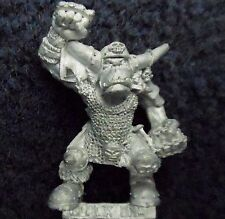 1993 Orc Bloodbowl 3rd Edition Blocker 1 Citadel Orcland Raiders Black Ork Team