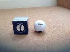 THE OPEN ROYAL LIVERPOOL 2014 TITLEIST GOLF BALL BOXED NEW