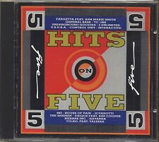Hits on Five 5 - FARGETTA U.S.U.R.A. 883 TALEESA CD 1992 NEAR MINT CONDITION