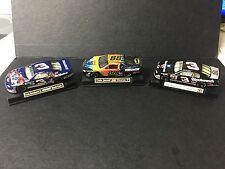 NASCAR Lot Of 3 1:43 JARRETT-Batman  & EARNHARDT-Superman & #3 Race Cars